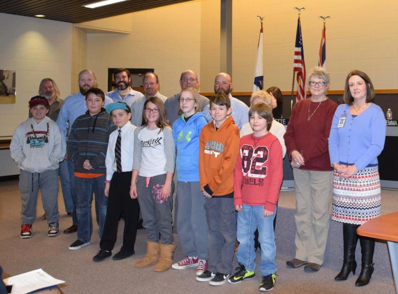 Several Honored at Recent SWCSD No. 1 Board Meeting