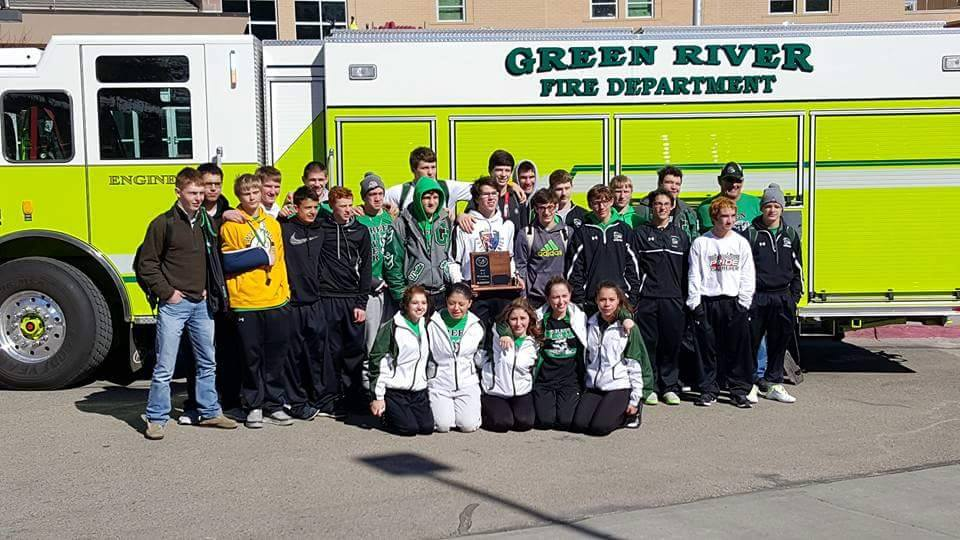 Green River Wolves Wrestling Takes 2015-2016 State Championship