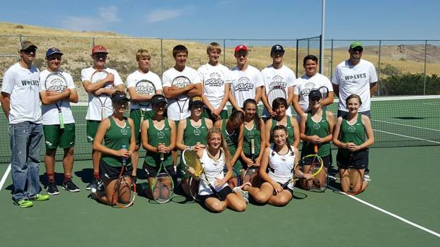 Several GRHS Wolves Earn All-State Tennis Honors