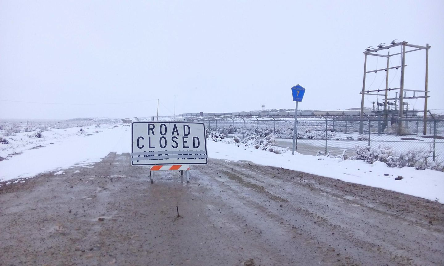 Sheriff's Office Issues Travel Advisories on Several County Roads