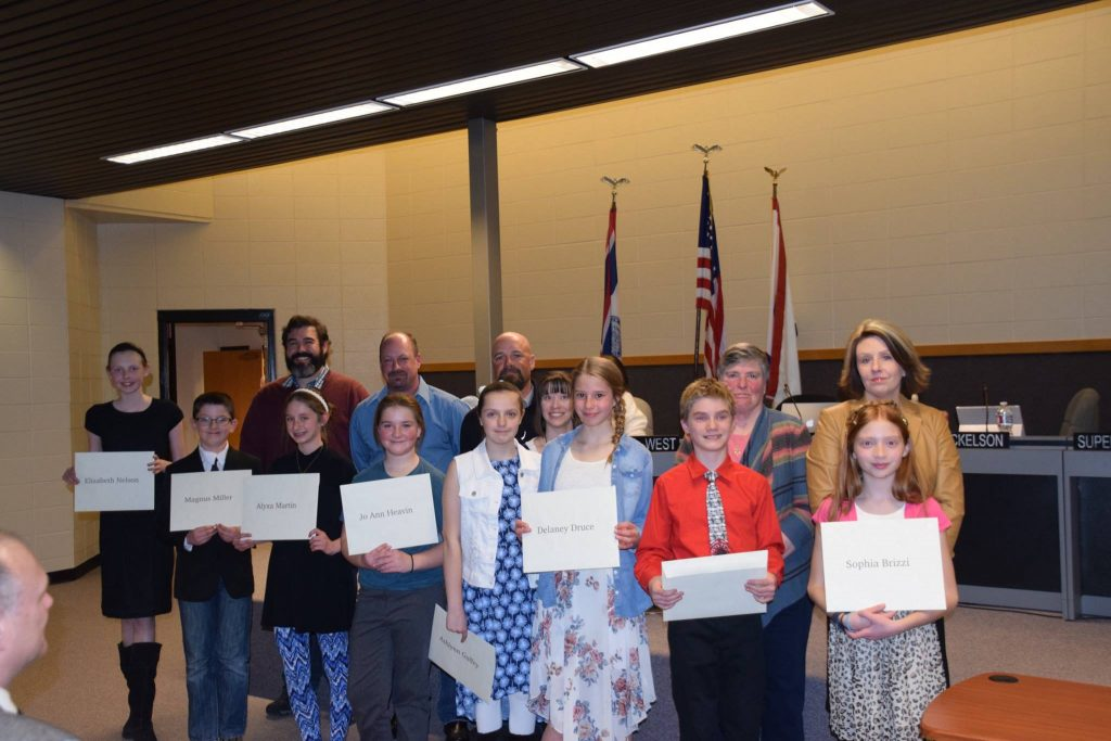 Pilot Butte Elementary Band Members Honored