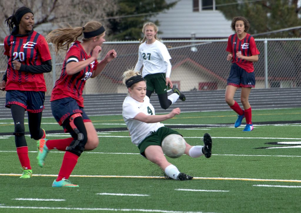 Green River Soccer Strong in Conference Opener