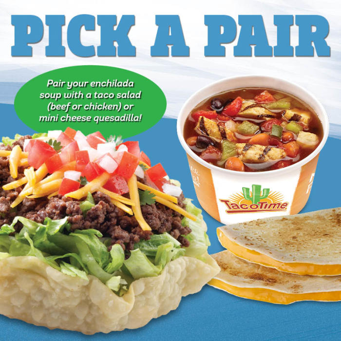 TacoTime Pick a Pair Promo