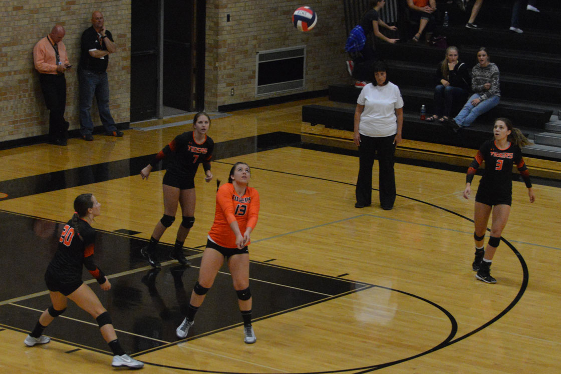 Strong Evanston Serving Leads to Win Over Lady Tigers
