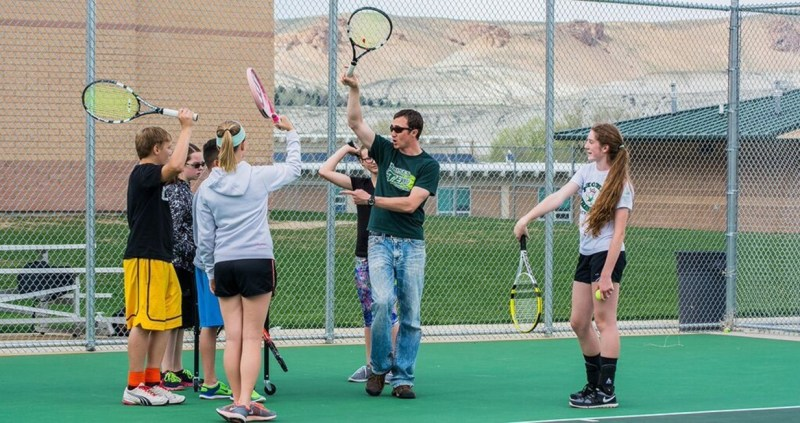 Green River Tennis Coach Harder Selected as High School South Region Coach of the Year