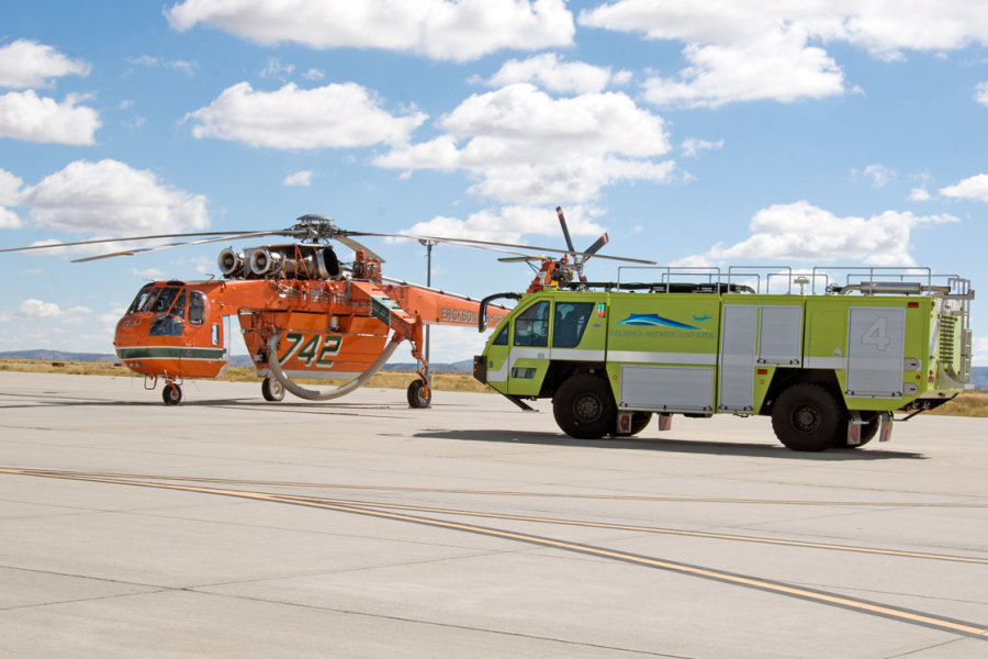 Community Involvement and Training at the Rock Springs-Sweetwater County Airport