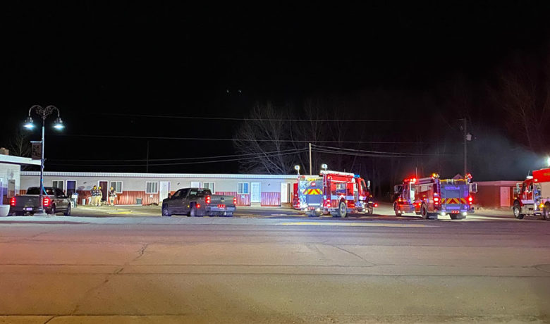 No Injuries Reported in Weekend Big Piney Motel Fire