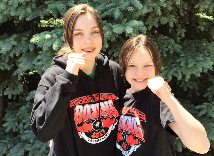 Garrison Boxing Sisters Headed to National Junior Olympic Prep Tournament