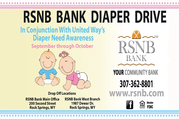 RSNB Bank Holds 3rd Annual Diaper Drive