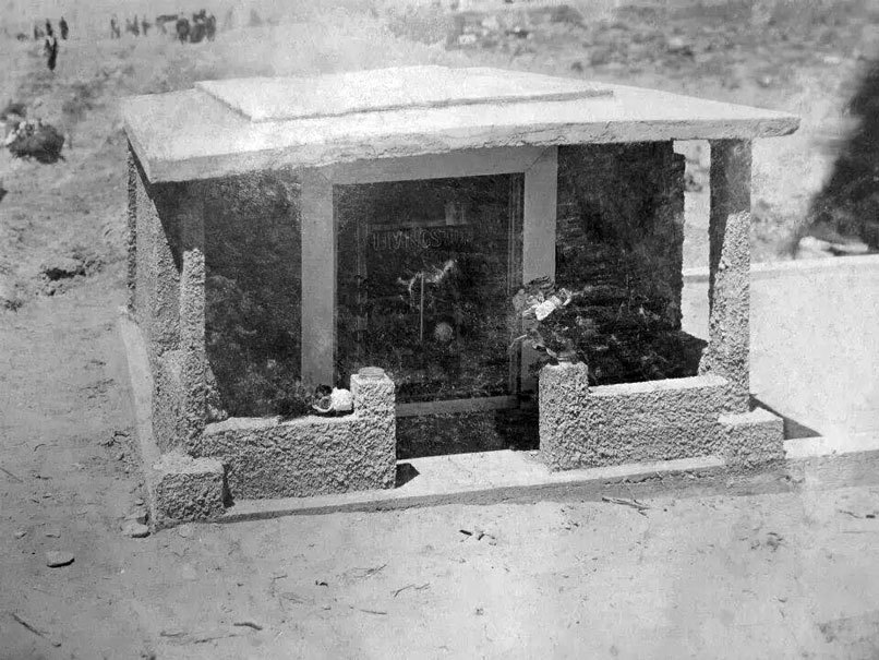 """Restoring """"The Dollhouse"""" at Rock Springs Cemetery"""
