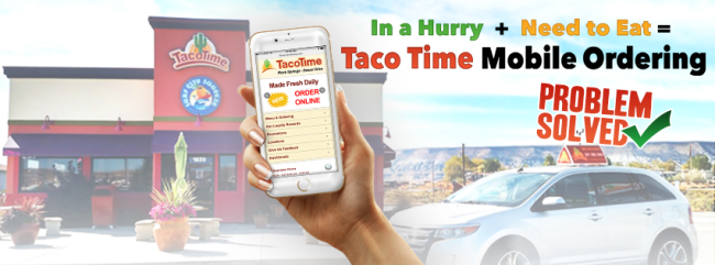 Taco Time Mobile Ordering