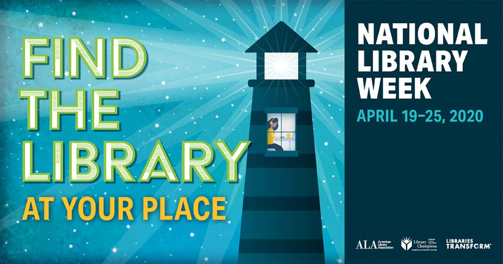 National Library Week Encourages Residents to Find the Library at Their Place