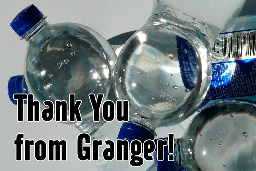 Granger Thankful for Help During Water Crisis