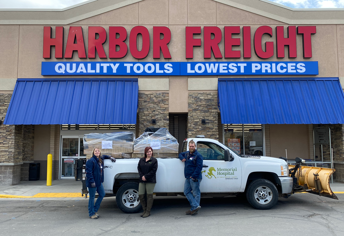 Harbor Freight Donates Personal Protective Equipment to MHSC