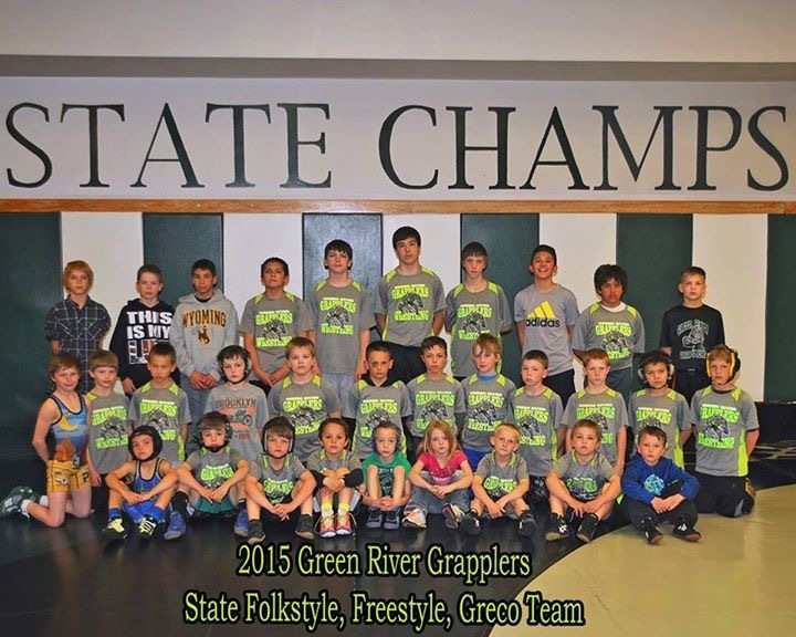 Green River Grapplers bring home two thirds and a second at State; Several Grapplers bring home individual honors