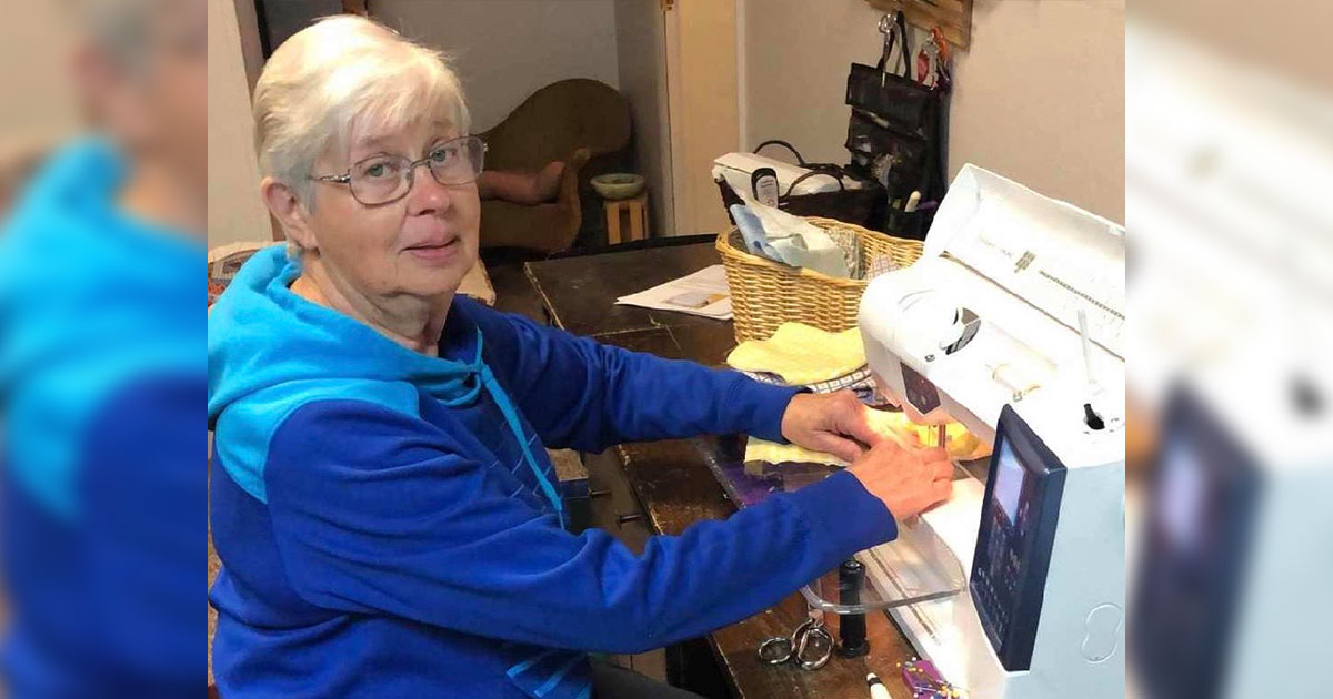 Local Quilters Sew Masks for Senior Residents