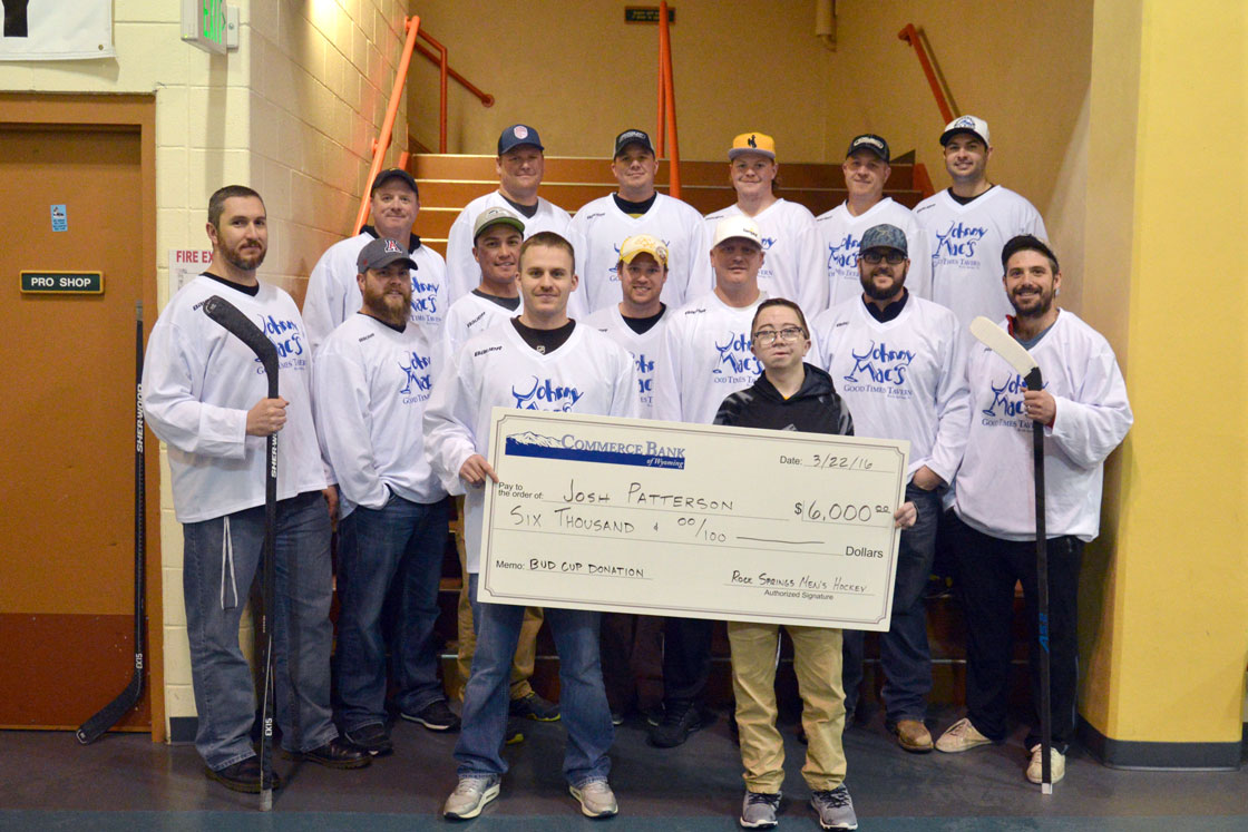Bud Cup Hockey Tournament Raises $6,000 to Help Josh Patterson