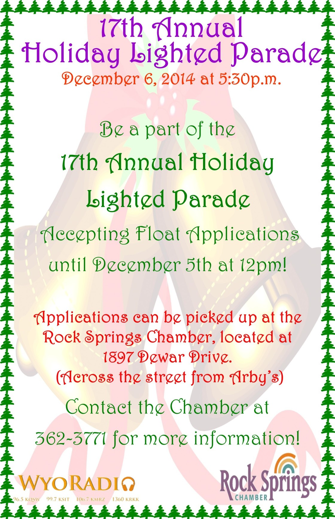 Light the Way-The 17th Annual Holiday Lighted Parade
