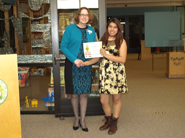 Jackson's Lucy Martinez Wins Poetry Out Loud Competition