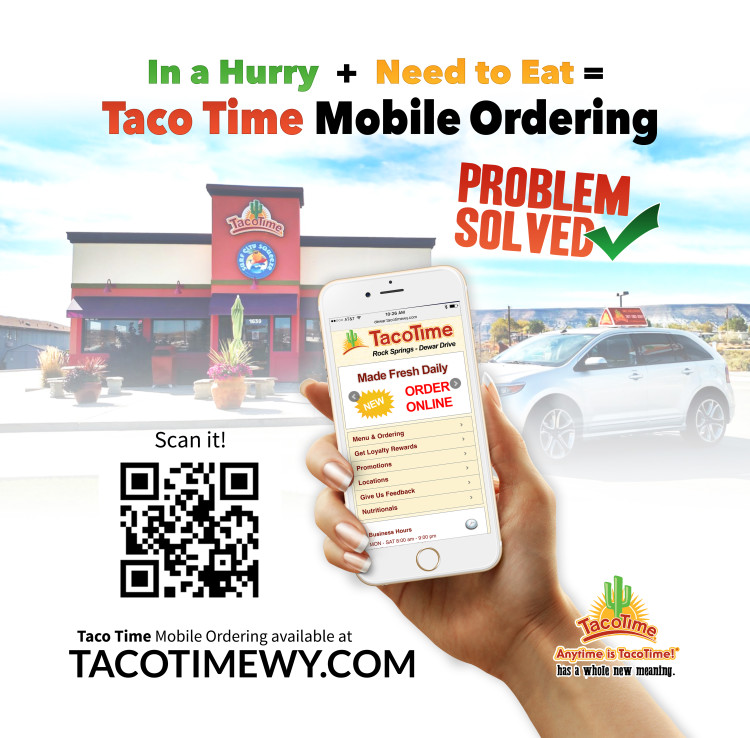 Taco Time Saves You Time with Mobile Ordering