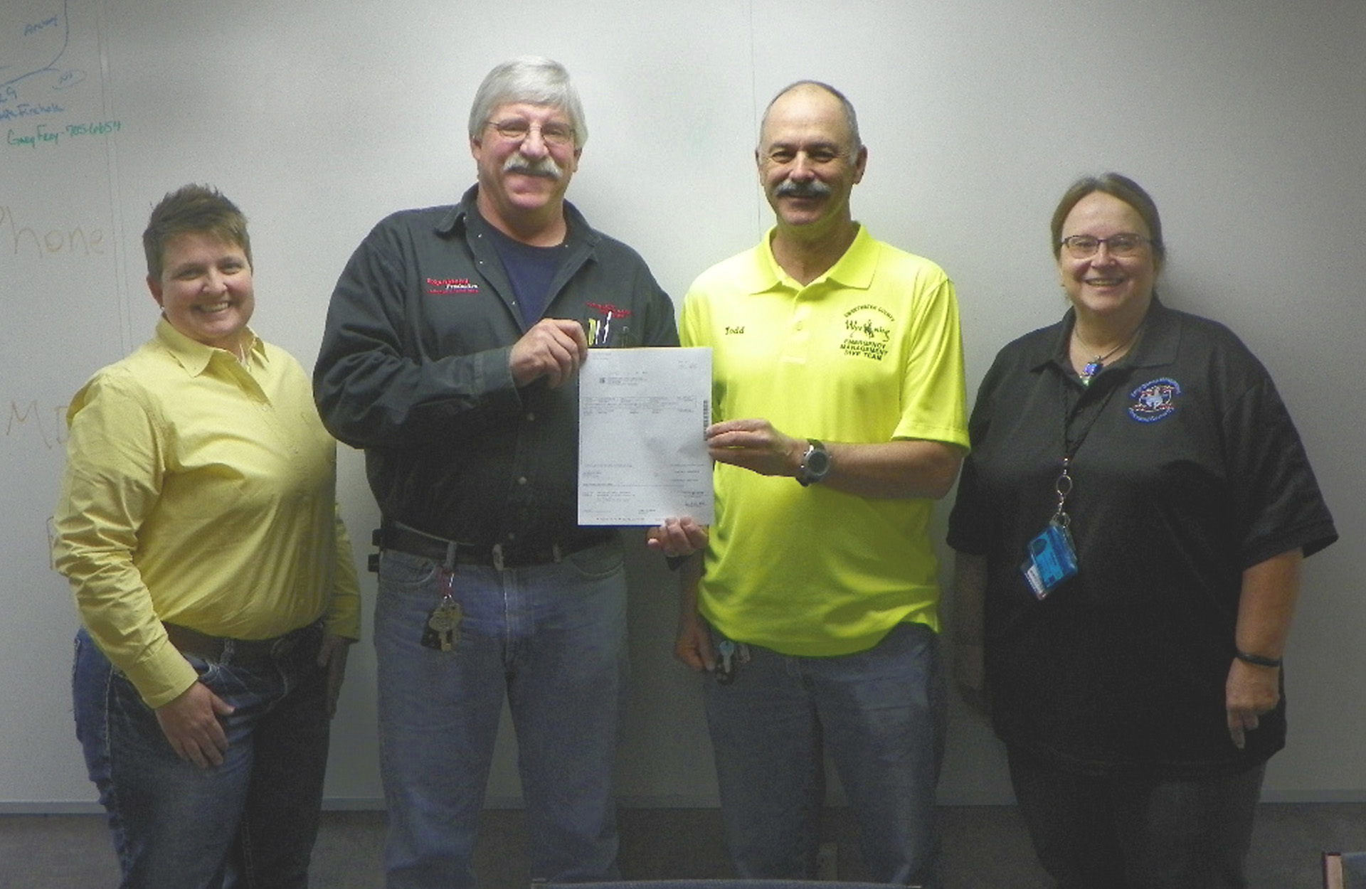 ExxonMobil Donates to Sweetwater Dive Team