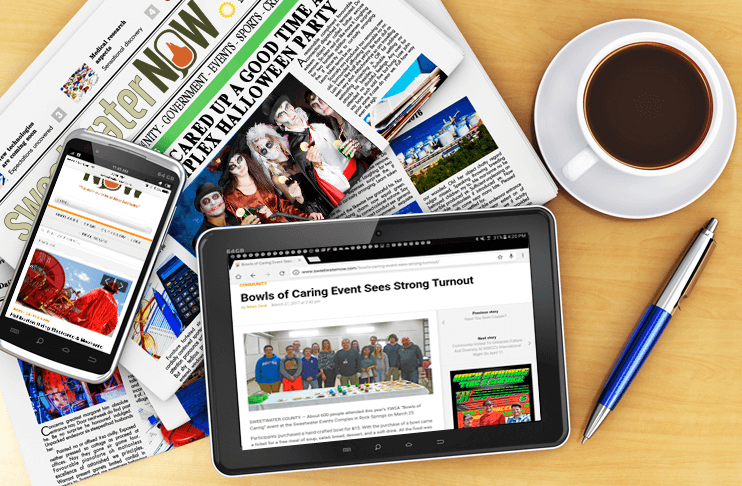 SweetwaterNOW Will Start Printing a Newspaper