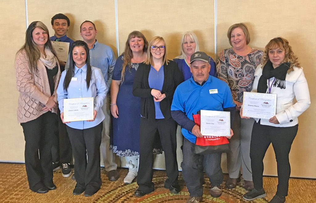 Sweetwater County Travel and Tourism Presents Quarterly R.E.A.C.H. Award Nominees