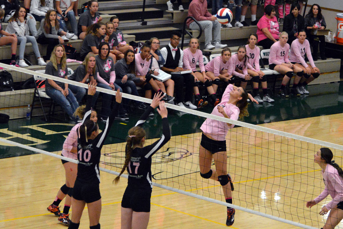 Emotional Win For Green River Lady Wolves