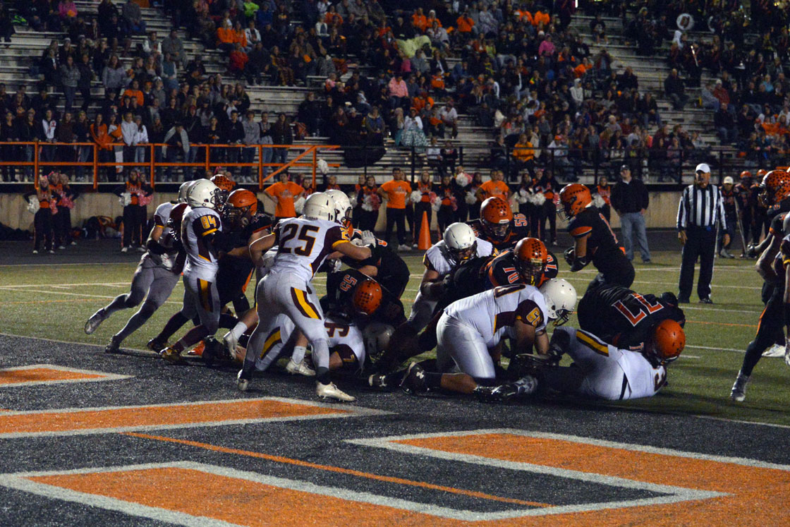 High School Football Standings and Playoff Glance