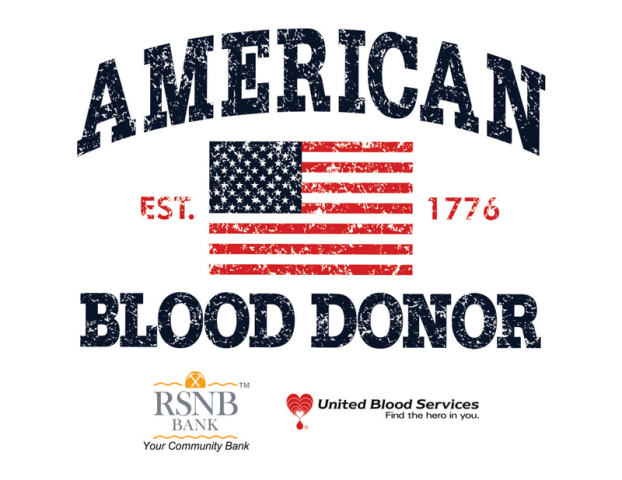 Blood Drive at RSNB Bank's West branch