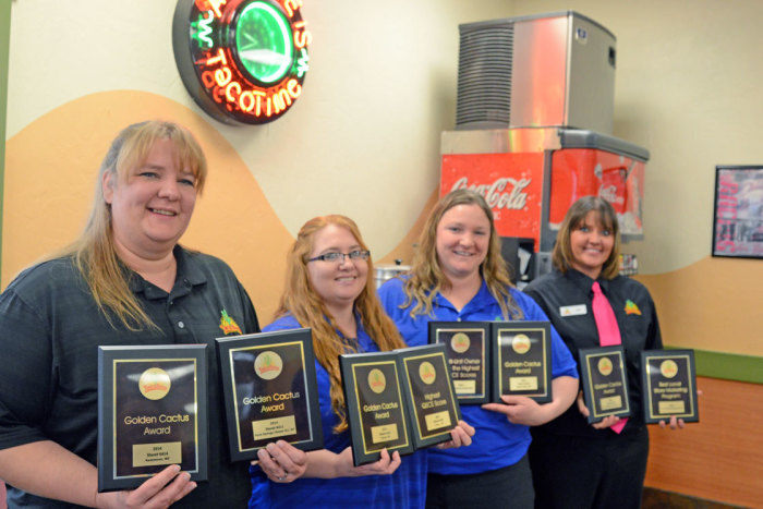 Staley's Taco Times Honored with Many Corporate Awards