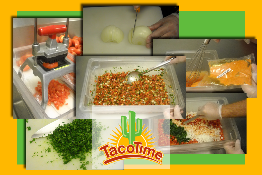 TacoTime Sauces, Dressings and Salsa Prepared In-Store
