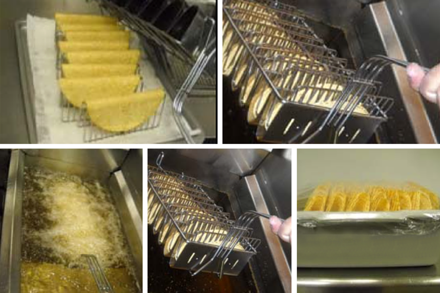TacoTime Makes Fresh Chips, Taco Shells and Salad Bowls Daily