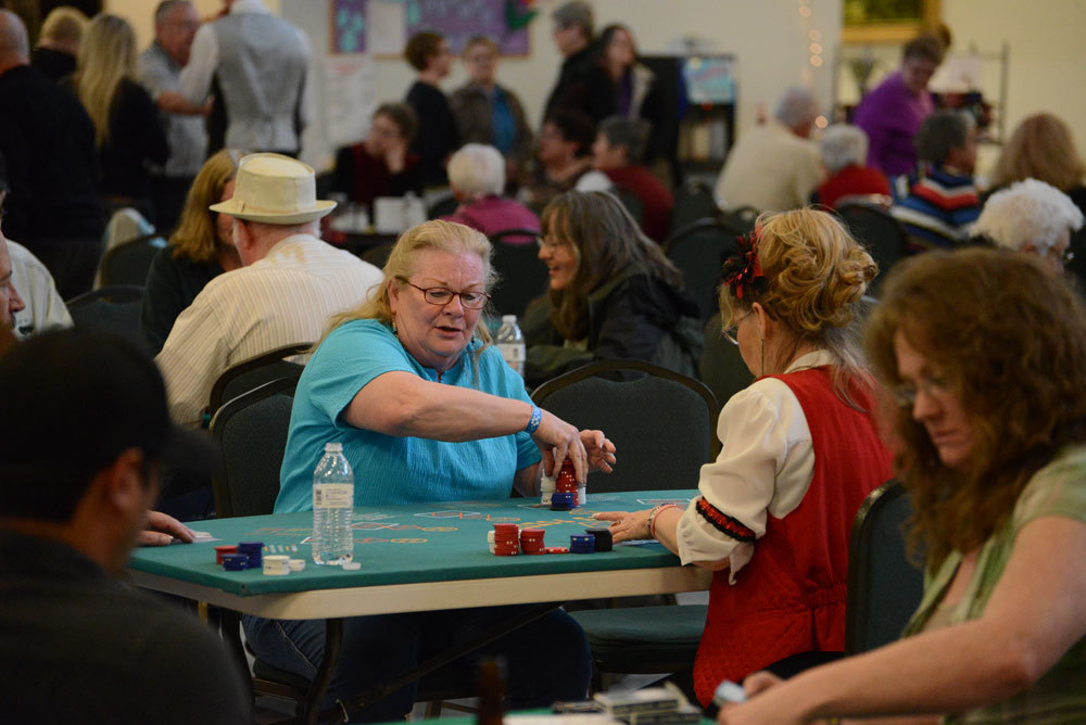 Casino Fever infects community; Young at Heart event draws over 200 participants and 100 volunteers