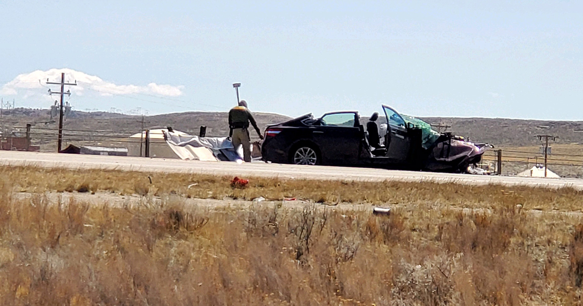 Head-on I-80 Collision Claims Two Lives Near Rock Springs Thursday Afternoon