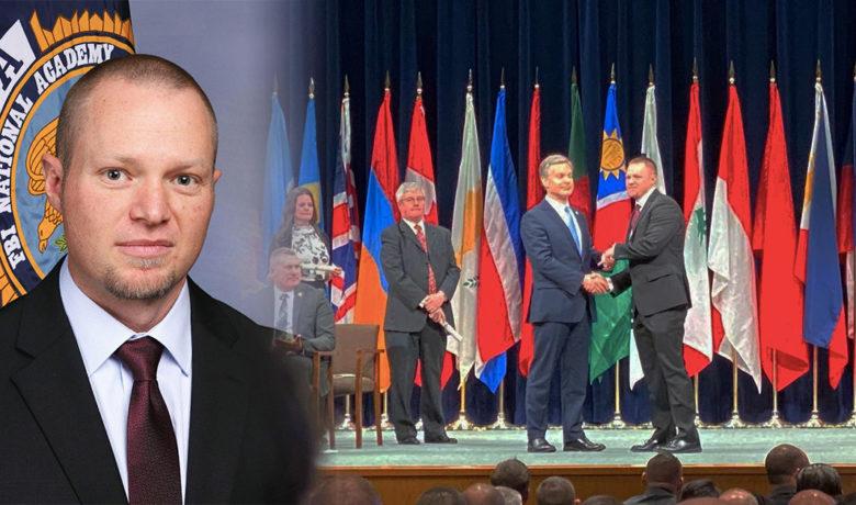 RSPD Commander Bill Erspamer Graduates from FBI National Academy