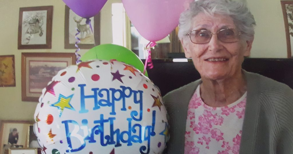 Neighbors Surprise RS Women With 90th Birthday Party