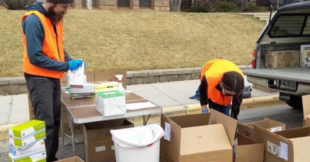 Wyo. Technology Coronavirus Coalition Sponsored Drive Collects 34,000 Gloves and More
