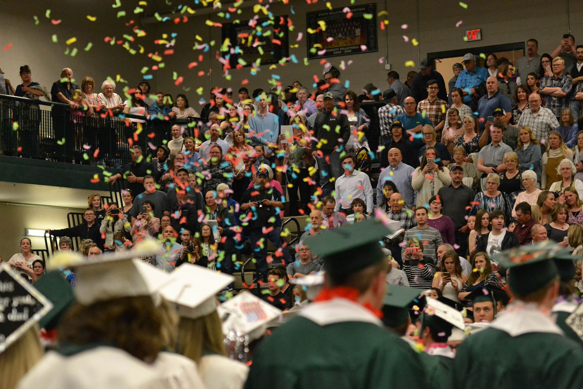 SCSD No. 1 Graduation Rate Increases in 2019-2020; SCSD No. 2 Decreases Slightly