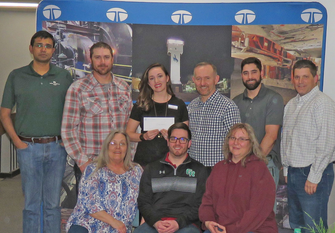 Climb Wyoming Receives Grant From Tata Chemicals North America Donation