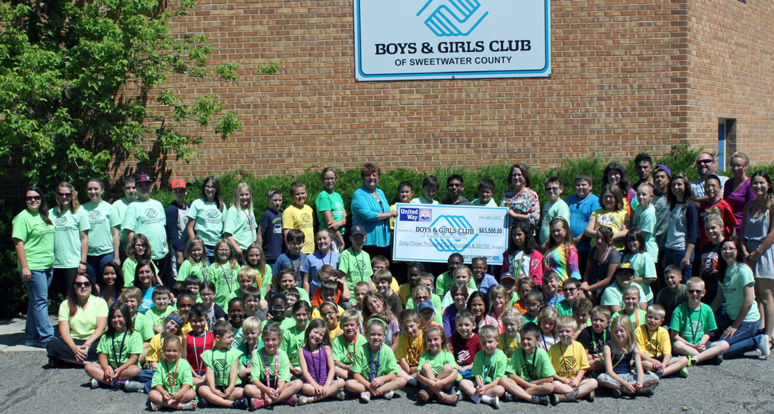 $63,500 United Way of Southwest Wyoming Grant to Benefit Boys & Girls Club of Sweetwater County
