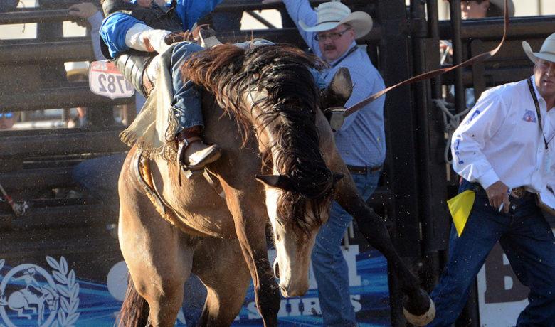 National High School Finals Rodeo performances begin
