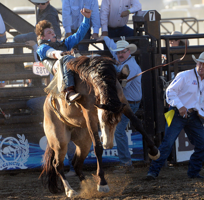 National High School Finals Rodeo performances begin