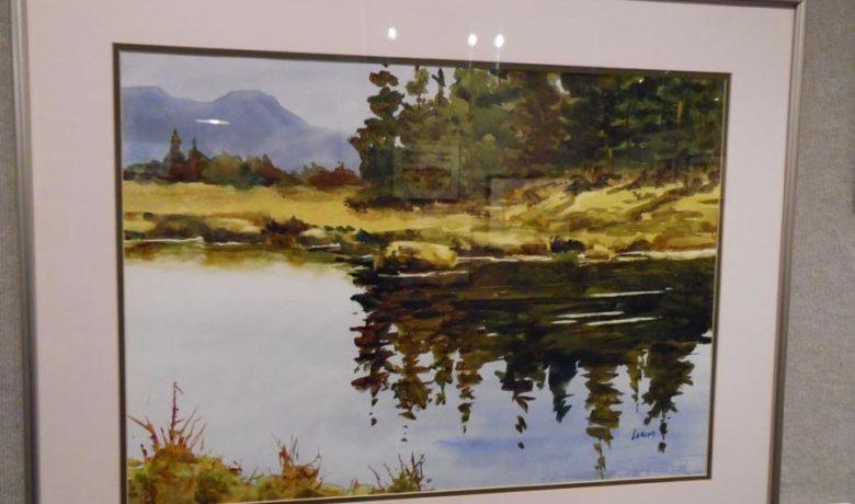 Watercolorist Skip Larcom Reception Set for Aug. 17