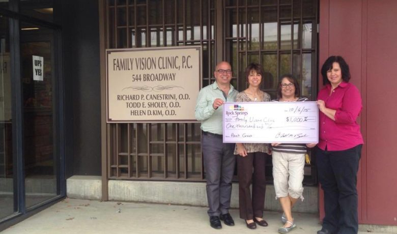Family Vision Clinic Receives RS Main Street/URA Grant