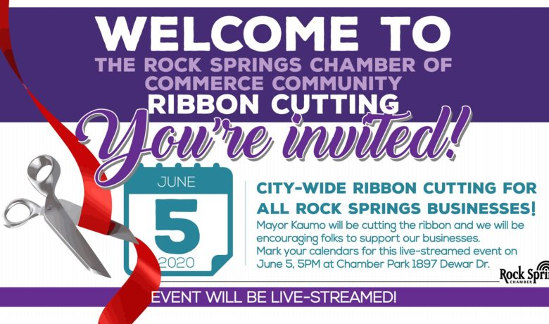 Rock Springs City-Wide Ribbon Cutting for ALL Businesses!