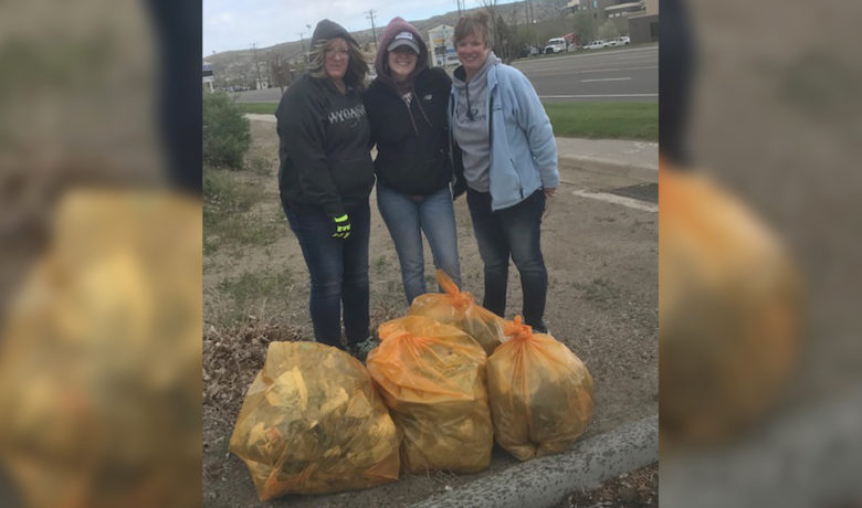 COVID-19 Won't Stop Rock Springs Residents from Picking up Trash