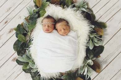 Birth Announcement: Daveigh Kennastyn Jones and Julia Haisley Jones