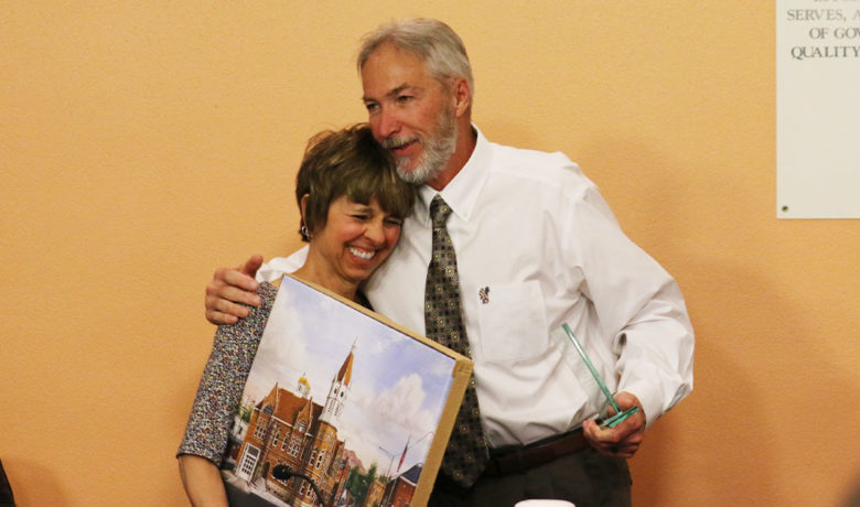 Rock Springs City Councilwoman Honored With Reception for Her Years of Service