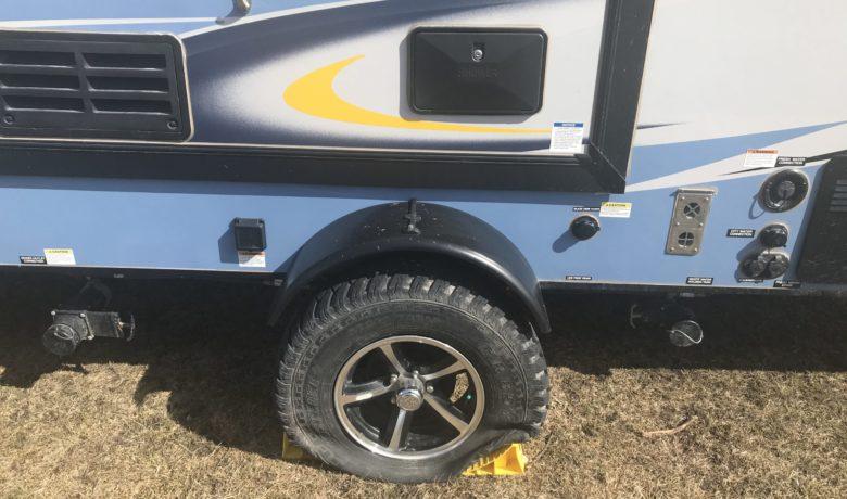 Reward Offered for Information on Recent Camper Vandalism